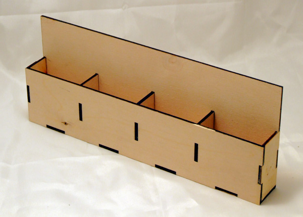 4 Slot Car Card Box